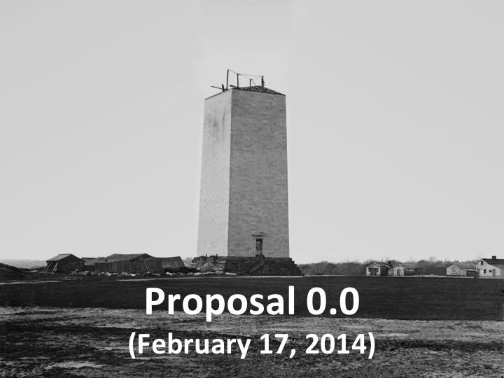 Proposal 0.0 (Feb. 17, 2014)